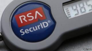 RSA security tag