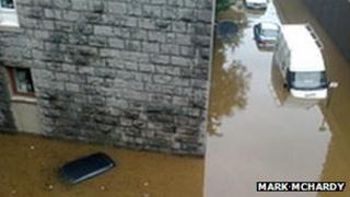 Aberdeen flooding [Pic: Mark McHardy]