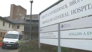 Bronglais Hospital in Aberystwyth