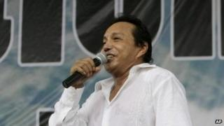 Diomedes Diaz in a file photo from 15 May, 2009