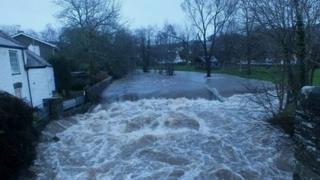 River Walkham 23 Dec, at Horrabridge