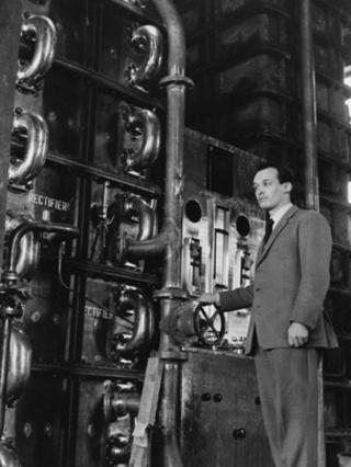 Charles Gordon, pictured in Girvan in 1964