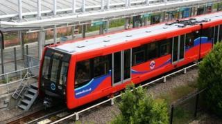 Docklands Light Railway train