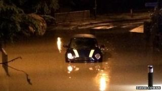 Flooding in Maidstone