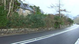 Nant Ffrancon in Gwynedd