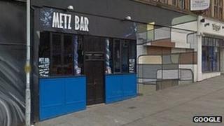 Metz Bar in Rotherham
