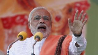Narendra Modi is main opposition party BJP's candidate for PM in next year's general elections