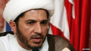 Sheikh Ali Salman, opposition party leader of al-Wefaq