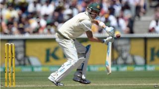 Australian cricketer Michael Clarke