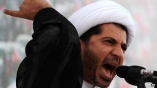 Bahraini opposition leader Sheikh Ali Salman (file photo 7 Dec)