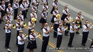 Banda de Música Colegio Moisés Castillo Ocaña