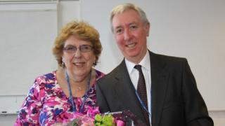 Beryl Dare with Michael Carr