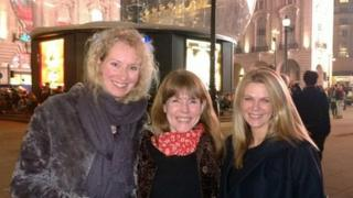 Sarah Russell, Cathy Court and Siobhan Freegard