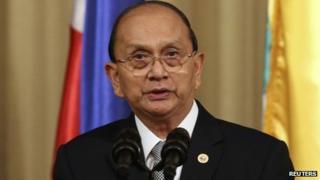 File photo: Thein Sein