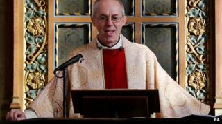 Archbishop of Canterbury, the Most Rev Justin Welby
