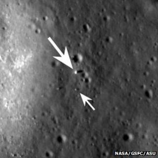 LRO views Yutu and its lander