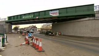 New rail bridge