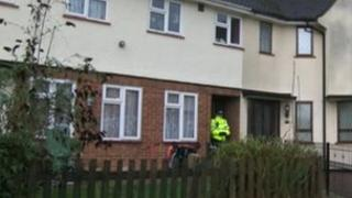 House in Hythe where man was attacked