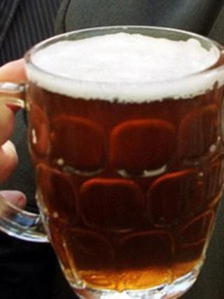 Pint of beer (generic)
