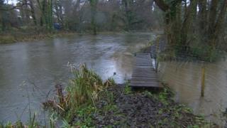 River Itchen in Brambridge, Eastleigh