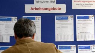 Jobseeker in Germany - file pic