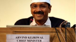 Arvind Kejriwal's party was born out of a strong anti-corruption movement that swept India two years ago