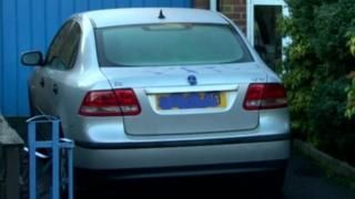 Car vandalised