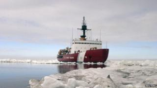 Polar Star, the US Coast Guard ice-breaker