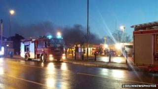 Handsworth fire January 6 2014