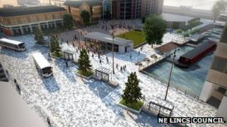 Artist's impression of Riverhead Square