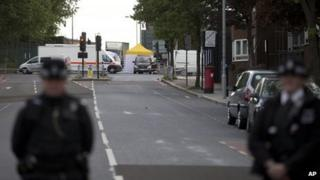 Woolwich attack scene