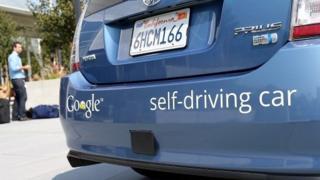 Google's self-drive car