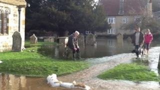Charminster flooding