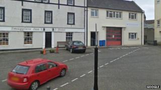 Burntlisland fire station