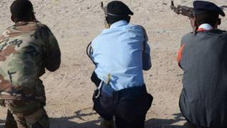 A firing squad in Somalia (17 August 2013)