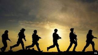 British soldiers in Iraq (file pic)