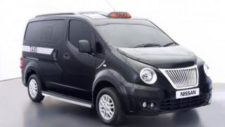 New London black cab design
