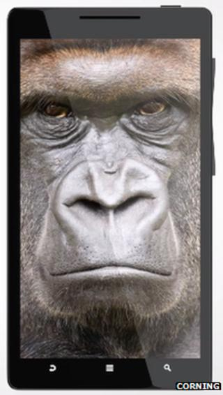 Antimicrobial Gorilla Glass