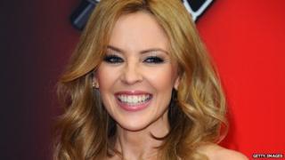 The Voice coach Kylie Minogue