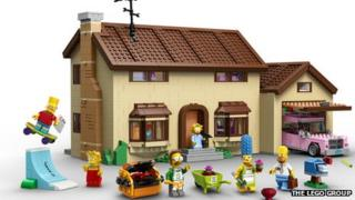 Lego Simpsons set