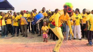 Ghana's Fans