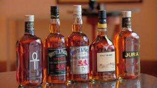 Whyte and Mackay products