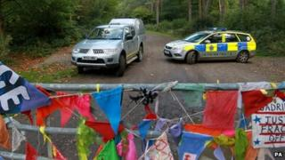 Site of Balcombe protests