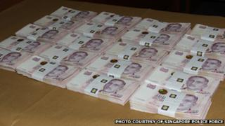 Ransom money paid by Lim Hock-chee after his mother was kidnapped in Singapore
