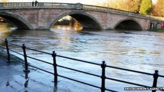 River Severn in Bewdley