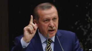 Turkish Prime Minister Recep Tayyip Erdogan - file pic