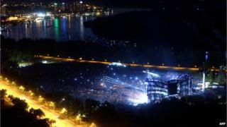 Concert in Belgrade