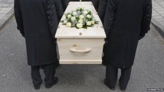 Coffin bearers