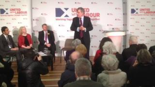 Gordon Brown in Lochgelly