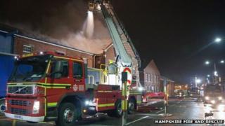 Portsmouth Dockyard Fire